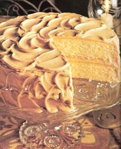Burnt Sugar Cake's originates in colonial Williamsburg and bluegrass Kentucky.